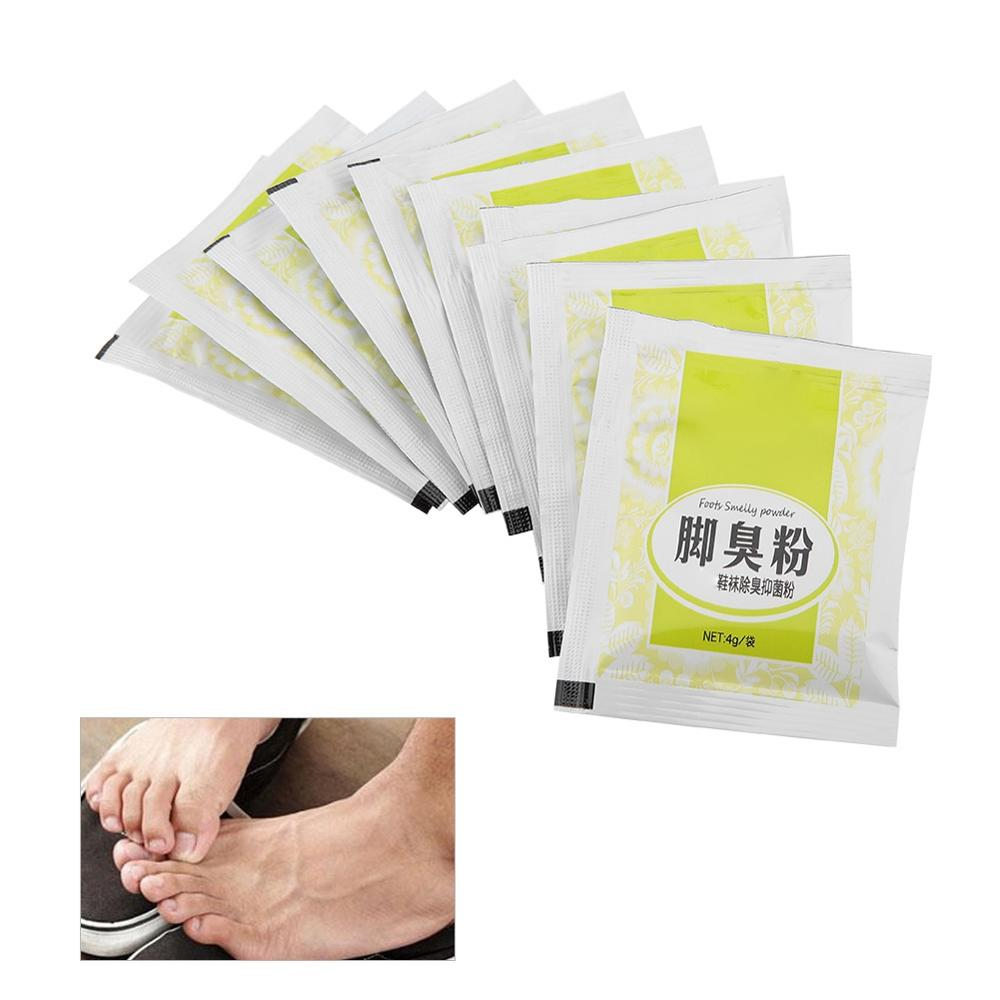Foot Odor Sweat Itching Bacteria Treatment Smelly Feet Powder Healthy Skin Care Fungal Infections Foot Bath Powder