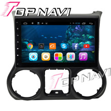 WANUSUAL 10.2′ Android 6.0 Car GPS Navigation for Jeep Wranger 2014 2015 2016 Multimedia Player Radio Stereo NO DVD 1G+16G 3G BT