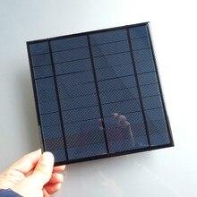 Célula para Energia Módulo de DIY 5 V 4.5 W Epóxi Painel Solar Fotovoltaico Policristalino DA Mini Casa Sistem