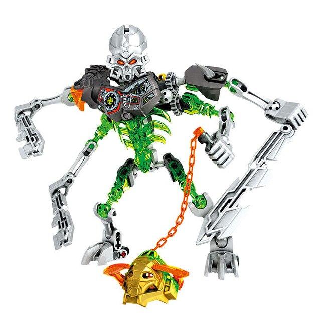 El esqueleto Guerrero soldados bioquímicos bionicle Juguetes ...