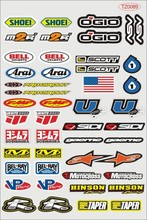 Glossy sunscreen pvc decal skateboard stickers sticker motorcycle bicycle styling film