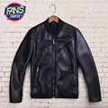 Autumn and winter men's faux fur leather jacket men clothing male slim leather jackets outerwear free shipping f367