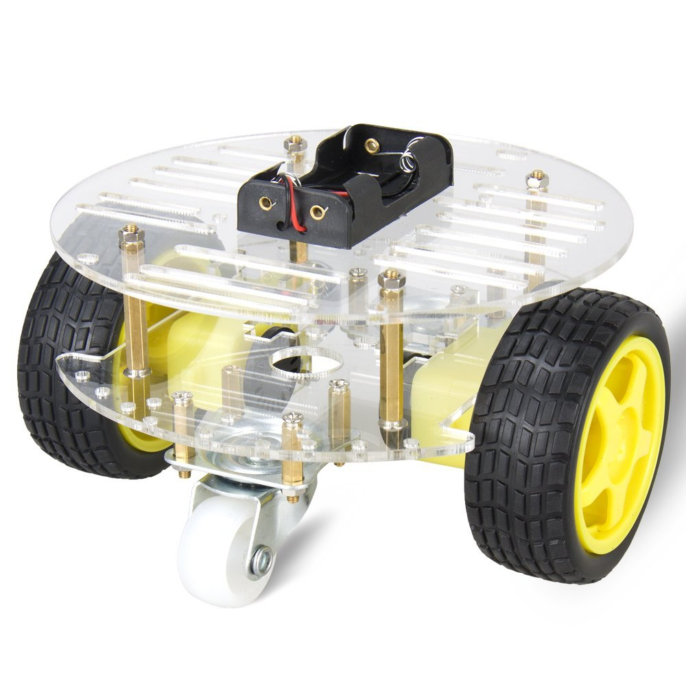 Smart Car Chassis 2wd Robot Tracing Strong Magnetic