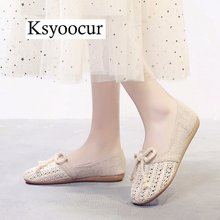 Brand Ksyoocur 2020 New Ladies Flat Shoes Casual Wo