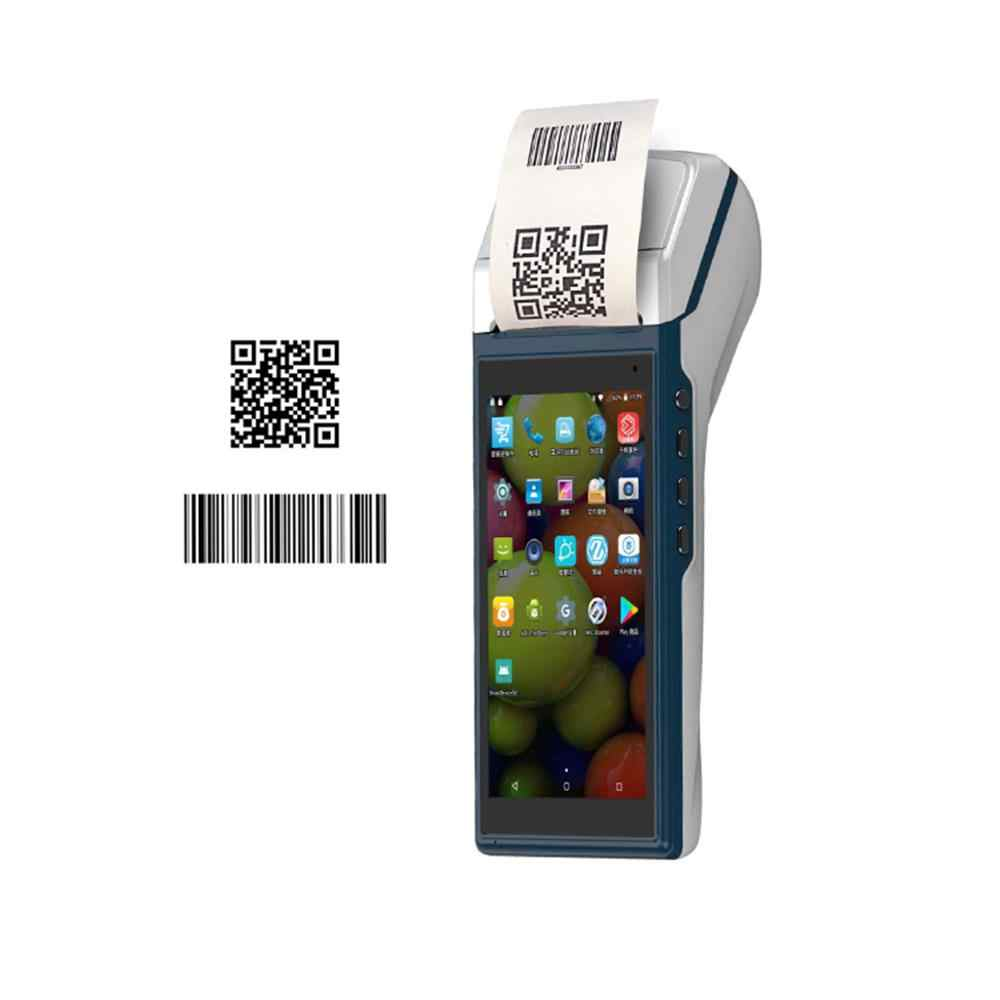 Handheld PDA Android 6 0 POS Terminal Touch Screen 2D Barcode