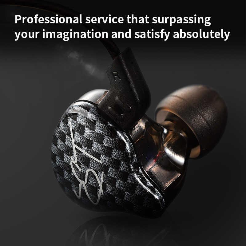 KZ ZST podwójny sterownik słuchawki dynamiczne i armatura odłączany kabel monitory izolowanie szumów HiFi muzyka słuchawki sportowe 1DD + 1BA