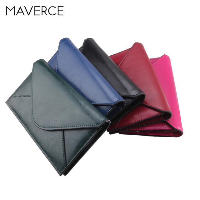 acbefac71ec2 4 Color Retro Western style Hasp Women Wallets Women's Purse Long Envelope  style Ladies Wallet PU Leather Card Holder-in Wallets from Luggage & Bags  ...