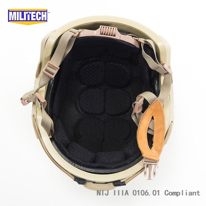 Casque d'aramide balistique haute coupe MILITECH DE de luxe certifié - Sécurité et protection - Photo 6