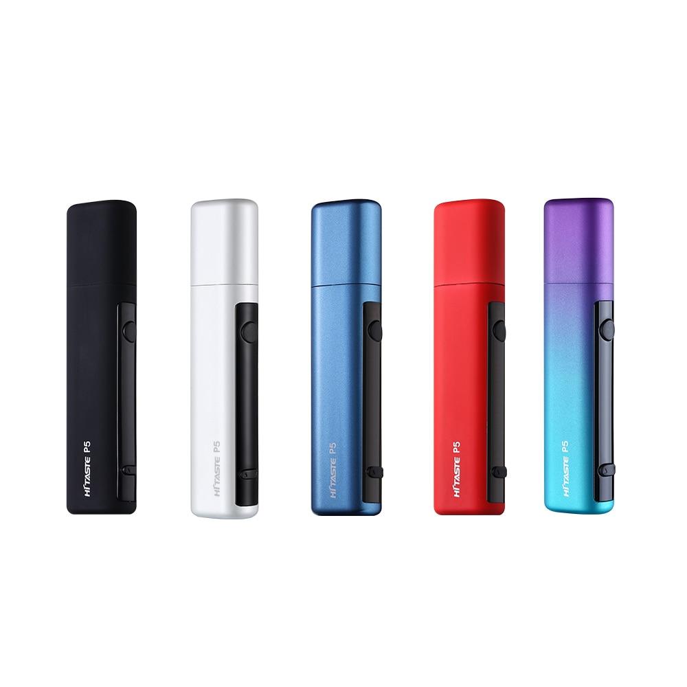 10 pieces a lot 2018 new heat not burn vape pen Hitaste P5 original electronic cigarette heating tobacco for heets