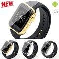 Новый A9 Smartwatch Bluetooth Смарт Часы A9 поддержка Apple iPhone ios Android Телефон с Heart Rate monitor выглядит как яблоко часы