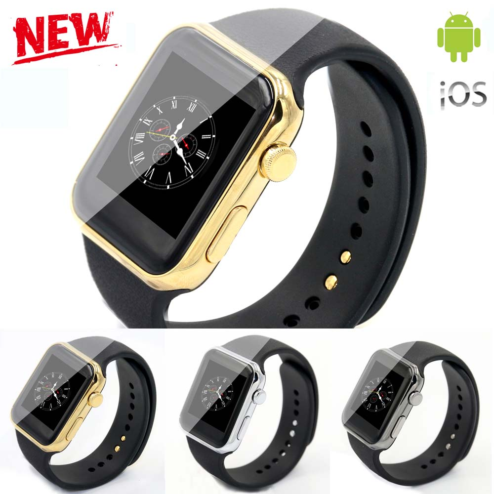 New Smartwatch A9 Bluetooth Smart Watch A9 support Apple iPhone ios Android Phone with Heart Rate monitor looks like apple watch