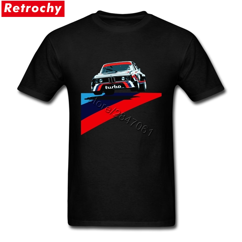 Unique Custom Made Shirts Cool Car T Shirt for Turbo Tee Tshirts Men Male Short Sleeve Crewneck Cotton T-shirt 3XL