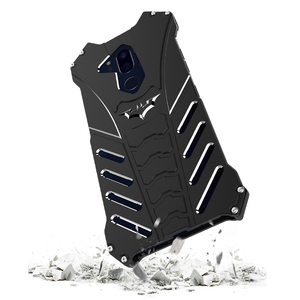 Image 2 - Capa protetora para lg v30 plus g8, case protetor, armadura resistente, de metal, à prova de choque, para telefones, batman, doom, R JUST capa para g7 g6 g8