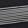 Дорин Box прекрасные 10 м серебристый цвет link-открыт Снаряженная цепи для DIY ювелирное лучших продавцов 3x2,2 мм (B13656) - фото