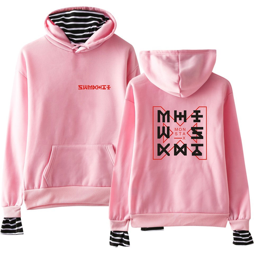 Monsta X Hoodies Harajuku Hoodies