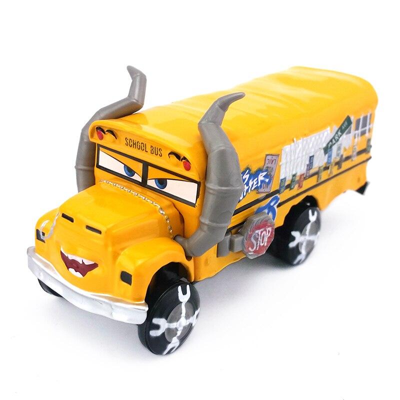 Disney Pixar тачки 3 Молния Маккуин Джексон шторм Круз Рамирес мисс фриттер 1:55 литая металлическая Игрушечная машина подарок для мальчика