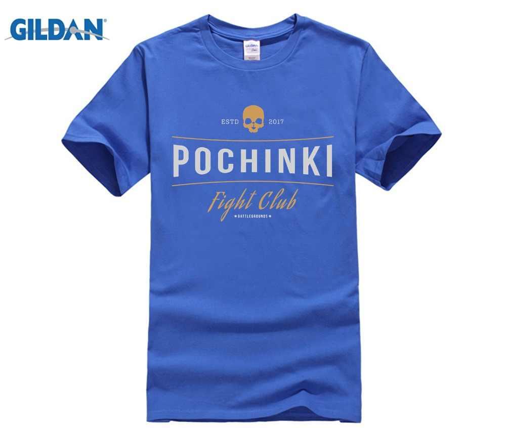 13cd321c8f ... POCHINKI FIGHT CLUB PUBG WINNER WINNER CHICKEN DINNER GAME Men's T-Shirt  Tees T- ...