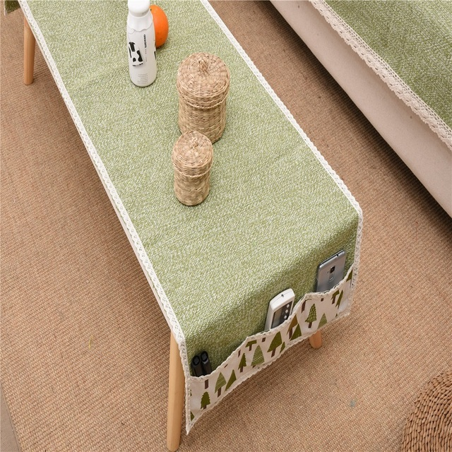 Pastoral Table Cover Cloth Towel Manteles Para Mesa Storage Tablecloth Cotton and Linen Weaving Table Pad Tea Dining tablecloth