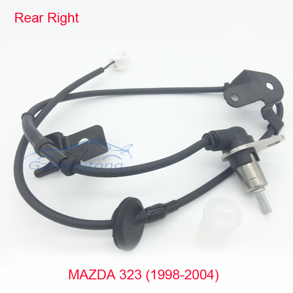 Rear Right ABS Wheel Speed Sensor for Mazda 323 VI 323F 323S MK6 98-04 B25D4371YB SS20076/338-18 Rear Wheel Sensor B25D-43-71