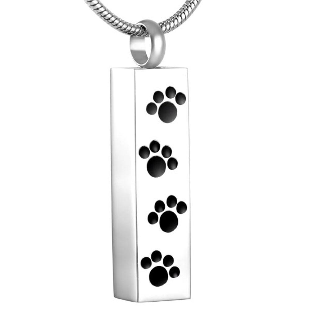 MJD8600 Rabatt!!! Big Verkauf 50% Off Cube Paw Print Pet Memorial Feuerbestattung Schmuck Anhänger für Asche (nur anhänger)-in Anhänger-Halsketten aus Schmuck und Accessoires bei  Gruppe 1