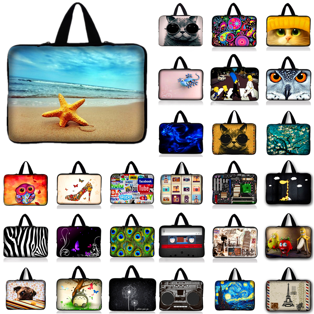 Soft Sleeve Case Bag Cover Pouch For 7 8 10.1 12 13.3 14 15.6 17.3 Laptop Tablet For Macbook Air/Pro/Retina For Asus *9
