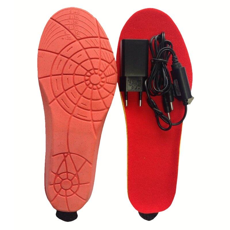 MEILLEUR CADEAU NOUVELLE ARRIVÉE chaud Électrique chauffée Semelles semelles Pour Les femmes hommes Chaussures boot Hiver épais semelle avec fourrure EUR TAILLE 35-46 # - 2