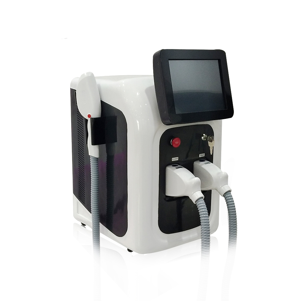 Image 5 - 2 in 1 Professional OPT SHR IPL Fast Hair Removal Machine Nd Yag Laser Tattoo Removal Elight Skin Rejuvenation MachineFace Skin Care Machine   -