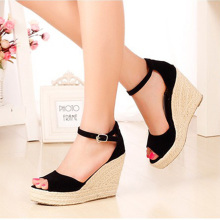 Big Size 32-44 New Summer Women's Sandals Peep-Toe Shoes Woman 9CM/11CM High-Heeled Platfroms Casual Wedges For Women High Heels