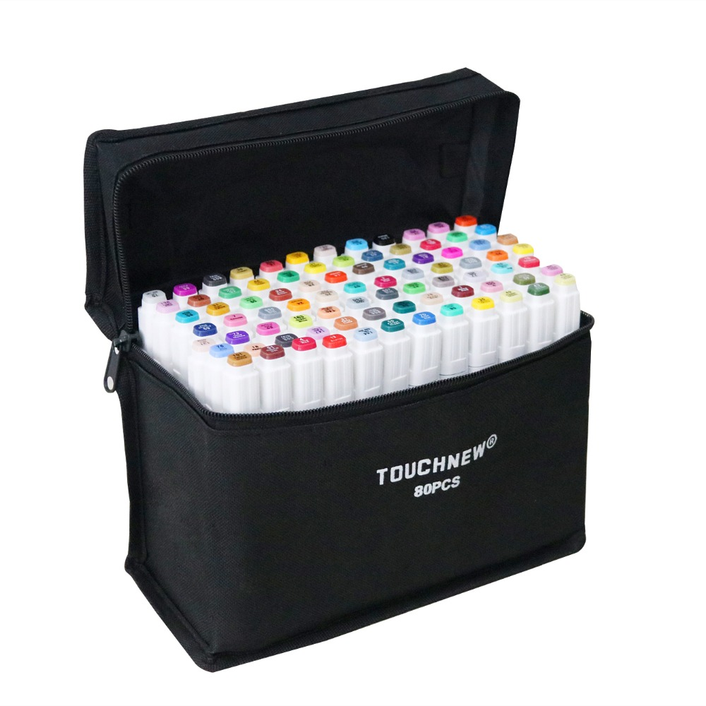Touchfive Alcohol Based Markers  Sketch Markers  Set For Drawing Manga Design Art Supplies Copic
