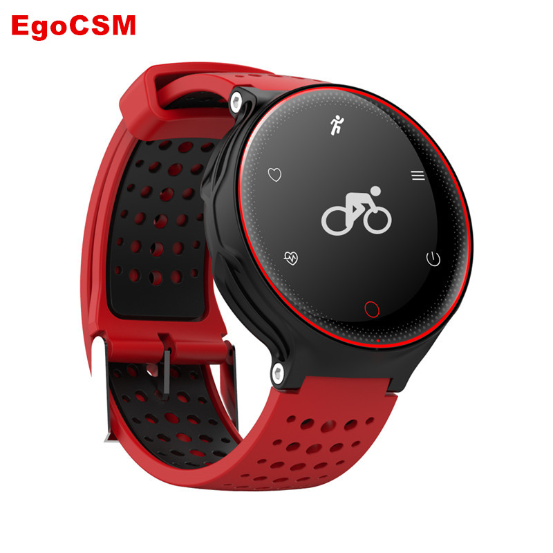 EgoCSM IP68 Waterproof Swimming Smart Watch X2 Pedometer Wristwatch Heart Rate Monitor Blood Pressure Wearable Fitness Tracker