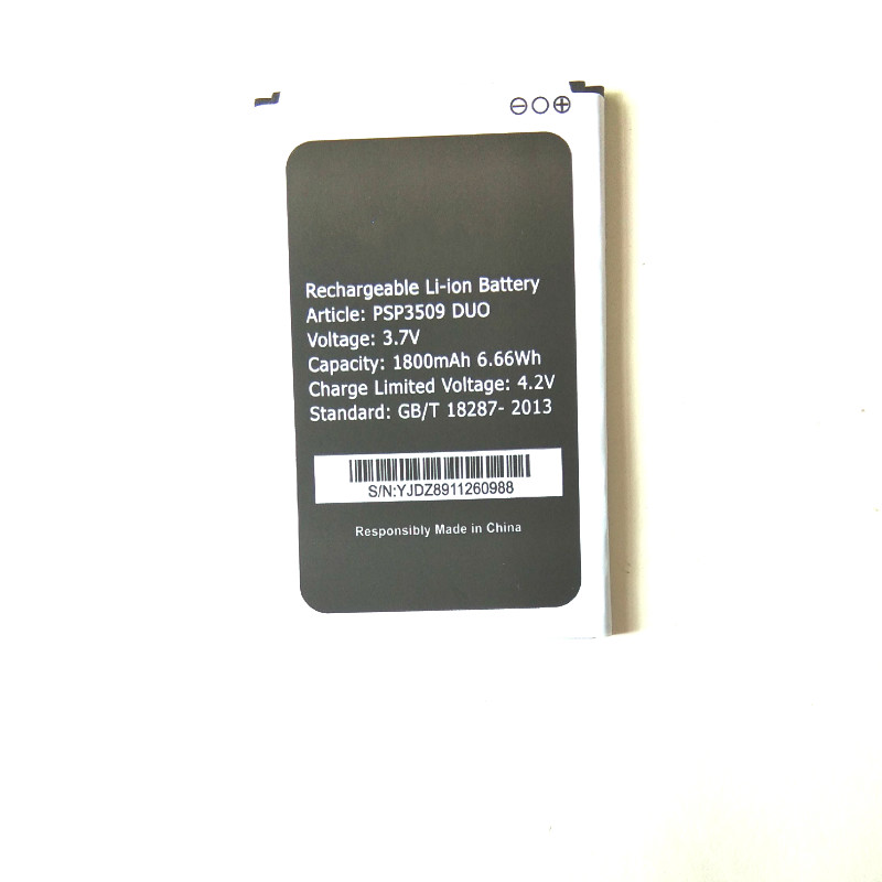 Westrock 1800mAh <font><b>PSP3503DUO</b></font> Battery for <font><b>Prestigio</b></font> Wize C3 PSP3503 DUO PSP 3503 Cell Phone image