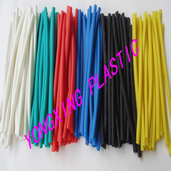 200meter/pack 2.5mm heat shrink tubing shrink ratio:2:1 insulating cable 200meter set 3 5mm pvc heat shrink tube ratio 2 1 sleeving for insulating connector