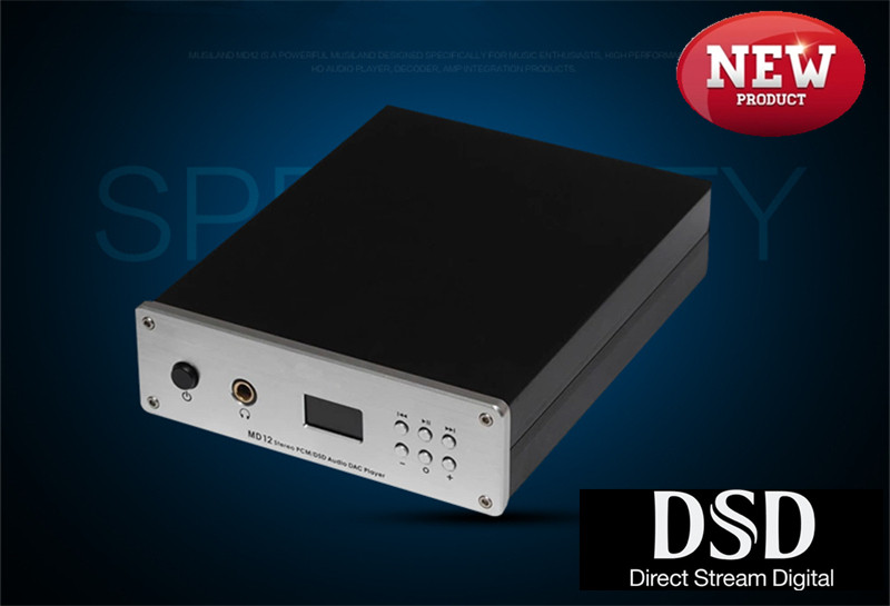 MUSILAND MD12 32bit/384KHz/DSD Direct Stream Digital USB Input DAC winXP/7/8 MAC OS X Android PC HIFI 3.5mm 6.25mm Output musiland monitor monitor 04 mx tf card player 32bit 384khz usb dac pc hifi dsd digital stream output usb2 0 3 5mm 6 25mm output