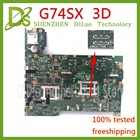 KEFU G74SX motherboard for ASUS G74SX GTX560M 3GB support 3D connector 12 Memory's laptop motherboard