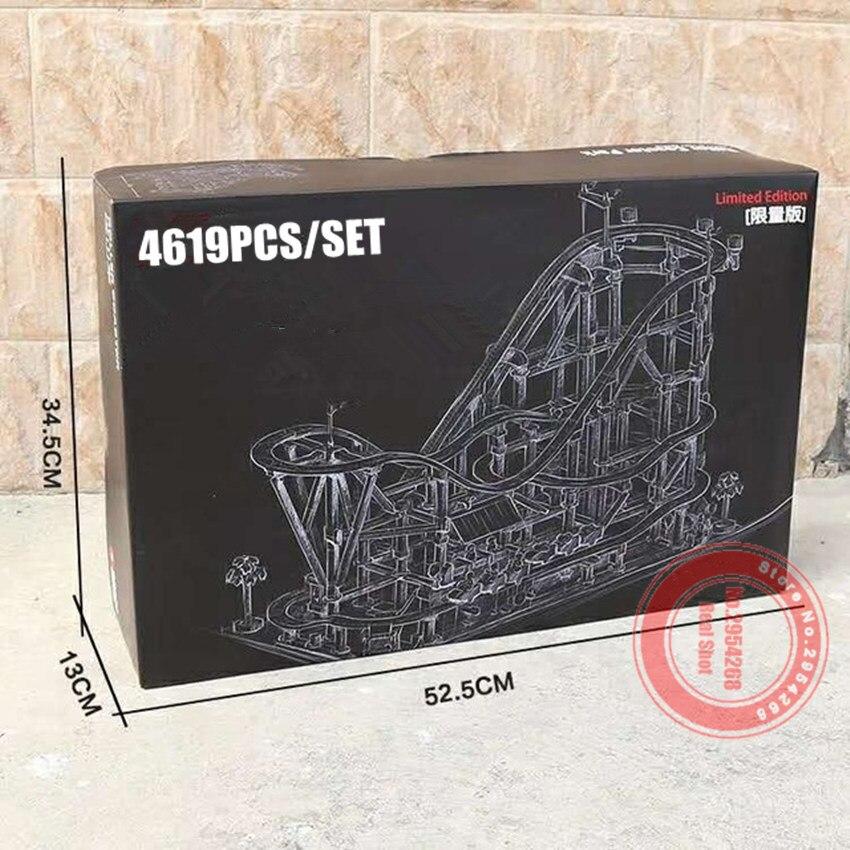 New Motor Power functions Amusement Roller Park fit city technic Model building Block Bricks diy Toys
