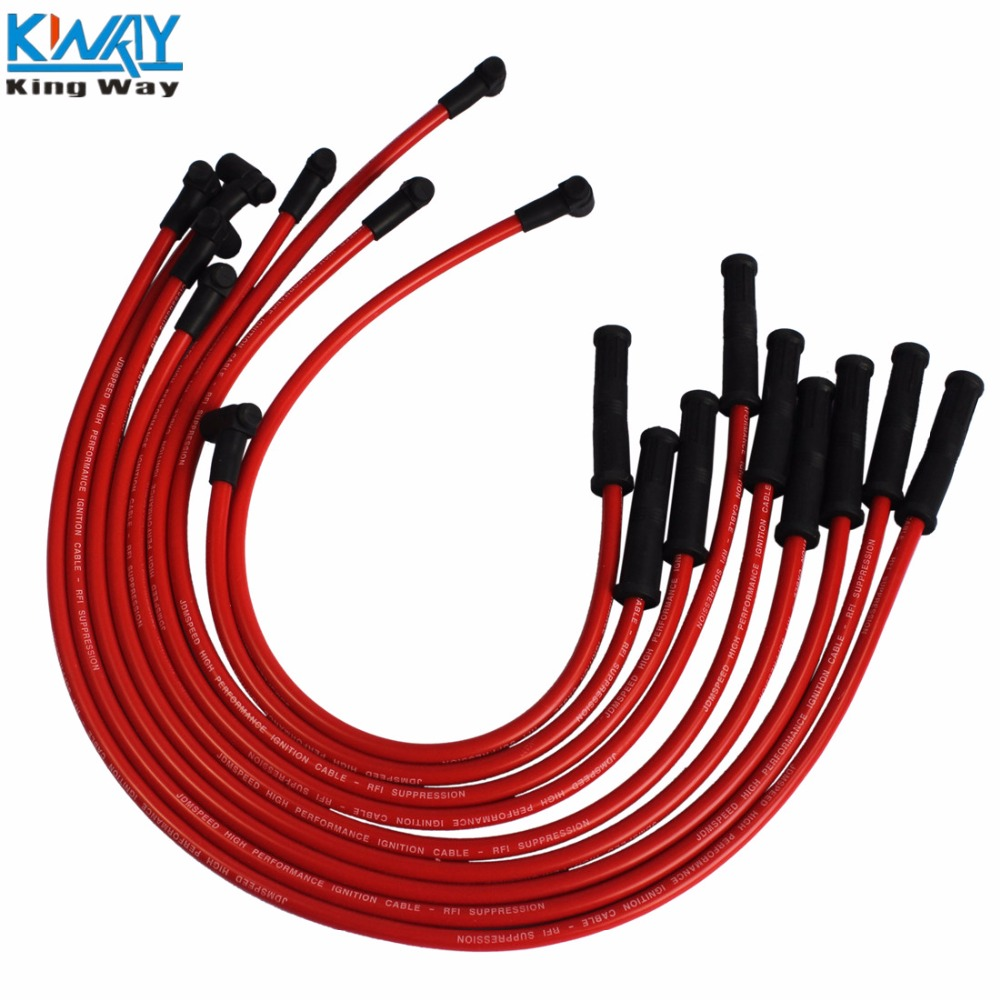 Free Shipping King Way Distributor Hei Spark Plug Wires Set 90 For 1961 Cadillac Wiring Chevy Sbc Bbc 400 383 350 454 V8 In Ignition Coil From Automobiles Motorcycles On