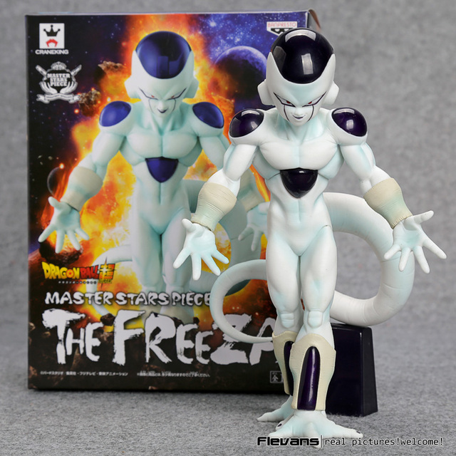 Dragon Ball Super Estrelas Mestre Pedaço O Freeza PVC Action Figure Collectible Modelo Toy 18 CM DBFG242