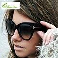 2017 mulheres marca de luxo designer óculos de sol cateyes oversize cat eye óculos de sol óculos shades sexy feminino oculos de sol feminino