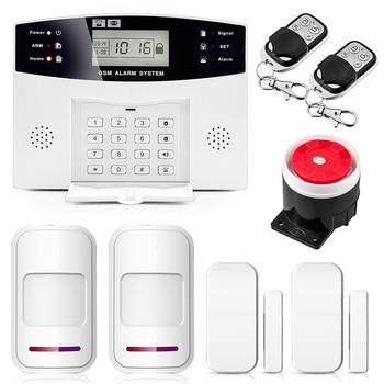 8 99 PSTN GSM Sistema De Alarme sem fio Com Fio Sem Fio Wired Zonas de Apoio Suporte de Saída de Relé de Controle De Casa Inteligente IOS Android APP