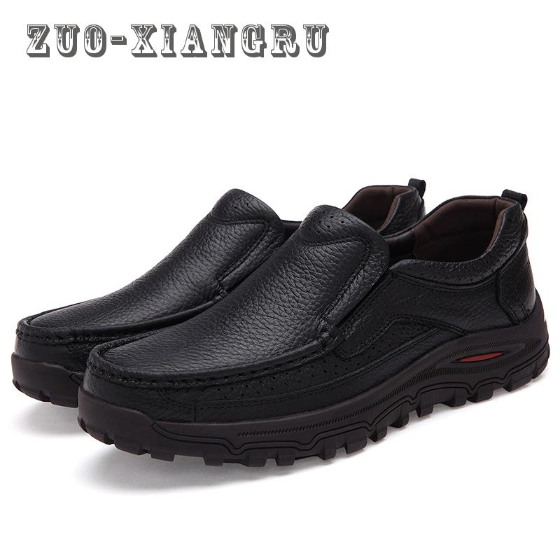 2017 New Men Genuine Leather Casual Shoes Leather Comfortable Soft Men Boots Designer Men Flats Male Shoes High Quality Wearable 2016 new fashion genuine leather men casual oxford shoes zapatillas hombre hot sale good quality comfortable male shoes