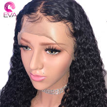 180% Density 360 Lace Frontal Wigs For Women Pre Plucked Lace Front Human Hair Wigs With Baby Hair Brazilian Remy Eva hair Wigs(China)