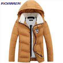 2016 New Brand Men's White Duck Down Jacket Casual Solid Turn-dwon Collar Parka Winter Jacket Men Fashion Overcoat Outerwear