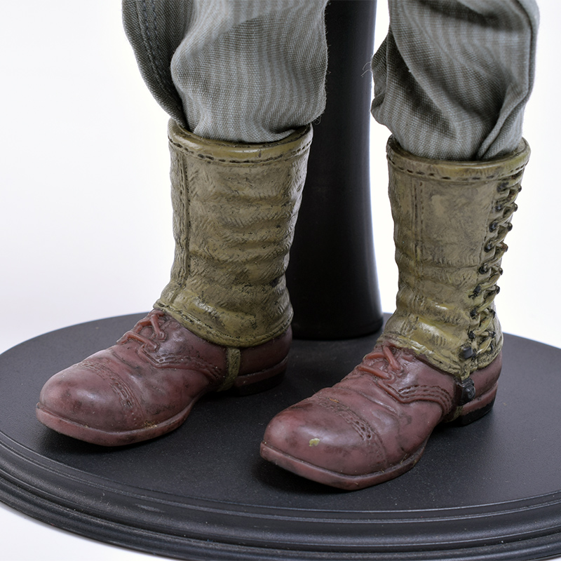 1/6 Scale DML DID BBI Soldier World War II American Garter Rubber Rangers Armored Combat Boots Fit 12 Inch Phicen Action Figure