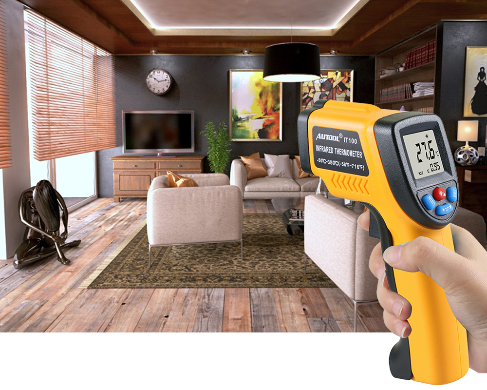 Infrared thermometer apply 4