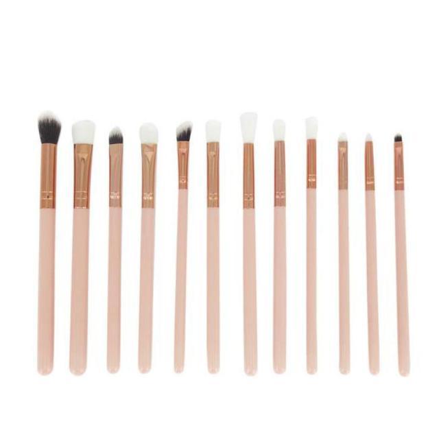 12 unids cosméticos Cepillos cosmética Cepillos Sets kits Herramientas fe27