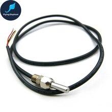 M10 Установка резьбы цифровой датчик температуры, DS18B20 датчик из нержавеющей стали водонепроницаемая упаковка