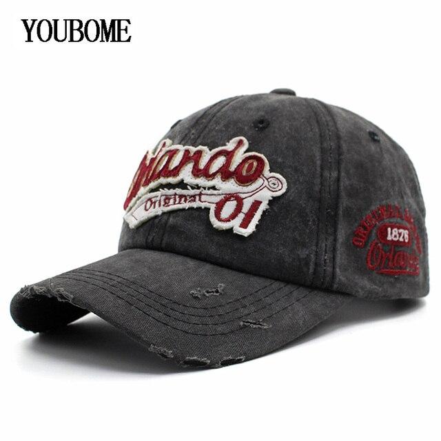 YOUBOME Homens Boné De Beisebol Marca Snapback Caps Chapéus Para Homens  Casquette Caminhoneiro Purê de Algodão d5096b16e98