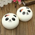 New Arrival 1PCS Beautiful Design Cute 10cm Squishy Charms Buns Cell Phone Charm Kawaii Jumbo Panda Key Bag Straps Pendant