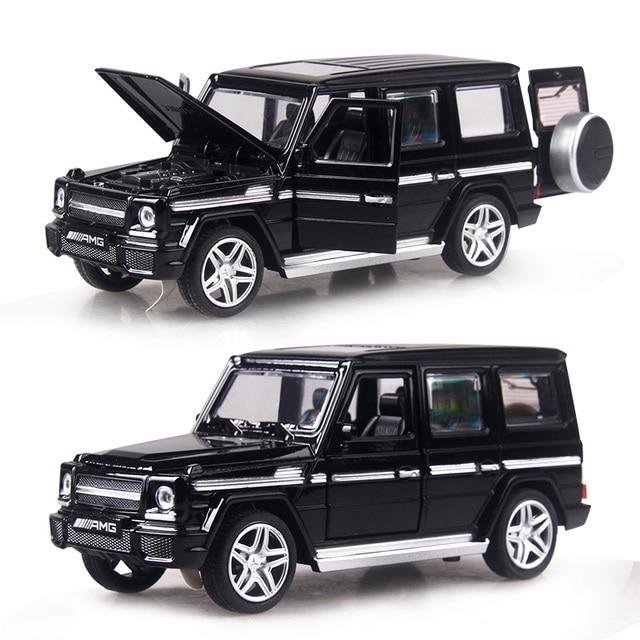 4 colores 1:32 escala 14-16CM coches de aleación S320 W140 coche Tire hacia atrás juguete en miniatura moldeado a presión con luz de sonido colección regalo juguete niños