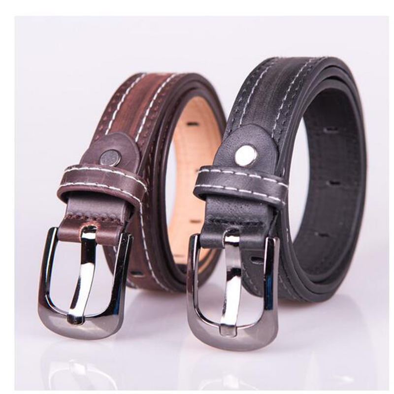 Child formal dress boys teenage   belt   hot designer kids PU leather fashion elastic   belt   buckle black Leisure strap Casual   Belt